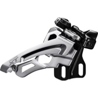 Shimano FD-M8000 E2 Type XT Triple Derailleur - 11 Speed Side Swing - E-Type / Side Swing / Front-Pull (3x11)