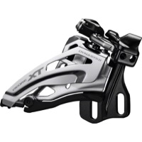 Shimano FD-M8020 E2 Type XT Double Derailleur - 2 x 11 Speed Side Swing - E-Type / Side Swing / Front-Pull (2x11)