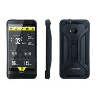 Topeak HTC One RideCase w/QuickClick Mount - Fits HTC One (Black)