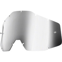 100% Goggles Replacement Lenses - Youth Lens (Silver Mirror)