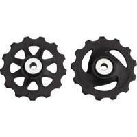 Shimano Upper and Lower Pulleys and Bolts - Altus M280, 7/8-Speed, Pulley Set (pair)
