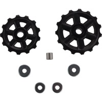 Shimano Upper and Lower Pulleys and Bolts - Altus M310, 7/8-Speed, Pulley Set (pair)
