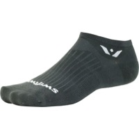 Swiftwick Aspire Zero Socks - Gray - X Large (Gray)