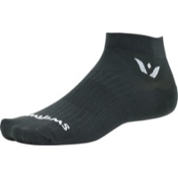 Swiftwick Aspire One Socks - Gray - Large (Gray)