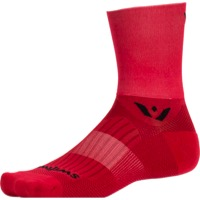 Swiftwick Aspire Four Socks - Red - Small (Red)