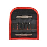 Fix It Sticks Replaceable Ed. (8 Bit) Mini Tool - Set w/Case (2,2.5,3,4,5,6mm hex, T25 Torx, and phillips #2)