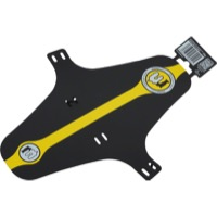 Mucky Nutz Face Fender XL Fenders - X Large (Black/Yellow)