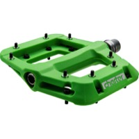 Race Face Chester Composite Platform Pedals - Pair (Green)