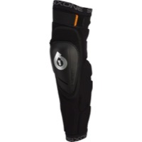 SixSixOne Rage Hard Knee/Shin Guards - Black - Medium (Black)