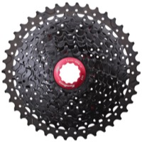 SunRace CSMX3 Wide-Range 10sp Cassette - 11-40t, Black (11,13,15,18,21,24,28,32,36,40)
