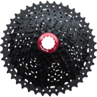 SunRace CSMX3 Wide-Range 10sp Cassette - 11-42t, Black (11,13,15,18,21,24,28,32,36,42)