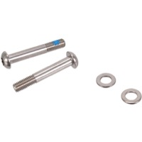 Sram/Avid Flat Mount Disc Brake Adapters and Hardw - 32mm T25 Mounting Bolts, Pair (Stainless)