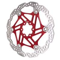 Hope Floating 2 Piece Rotors - 160mm 6-Bolt (Red)