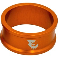 "Wolf Tooth Components Headset Spacers - 1 1/8"" x 15mm Bag of 5 (Orange)"