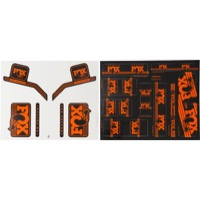 Fox Racing Shox Heritage Decal Sets 2017 - Orange