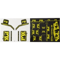 Fox Racing Shox Heritage Decal Sets 2017 - Yellow