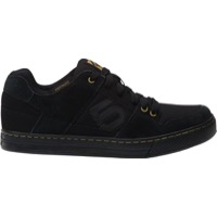 Five Ten Freerider Flat Pedal Men's Shoe - Black/Khaki - 7.5 (Black/Khaki)