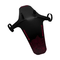 Blackburn Barrier Mud Guard Front Fender 2018 - Black/Red