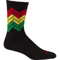 SockGuy Ziggy Crew Sock - Black - Small/Medium (Black)