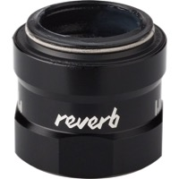 Rock Shox Reverb Seatpost Parts - External Bushing Collar Assembly (B1 Reverb/Reverb Stealth, Black)