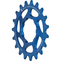 Wolf Tooth Components Single Speed Alloy Cogs - 19 Tooth (Blue)
