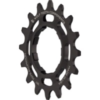 Wolf Tooth Components Single Speed Alloy Cogs - 16 Tooth (Black)