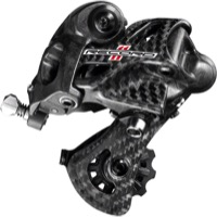 Campagnolo Record Carbon '15+ Rear Derailleur - 11 Speed - Short Cage (Carbon)