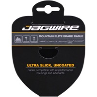 Jagwire Elite Ultra-Slick Uncoated Brake Cables - Shimano/SRAM 2750mm, Each (Mountain Only)