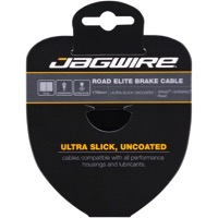 Jagwire Elite Ultra-Slick Uncoated Brake Cables - Campagnolo 1700mm, Each (Road Only)