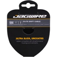 Jagwire Elite Ultra-Slick Derailleur Cables - Stainless 2300mm (Shimano/SRAM Only)
