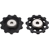 Shimano Upper and Lower Pulleys and Bolts - XTR M980 Pulley Set 2nd Gen. (Pair)