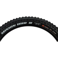 "Maxxis Minion DHR II 3C/EXO TR 27.5"" Plus Tires - 27.5 x 2.8"" (Folding Bead)"