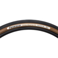 "Panaracer GravelKing Slick TR 27.5"" (650b) Tire - 27.5 (650b) x 42mm (Black Tread/Brown Sidewall)"