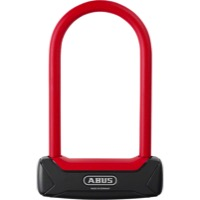 "Abus Granit Plus 640 Mini U-Locks - 3.25"" x 5.9"" - 3.25"" x 5.9"" (Black/Red)"