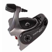 TRP Spyre SLC Road Flat Mount Disc Brake Caliper - Short Pull Caliper, Flat Mount (Grey)