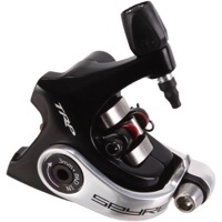 TRP Spyre Road Flat Mount Disc Brake Caliper - Short Pull Caliper, Flat Mount (Black)