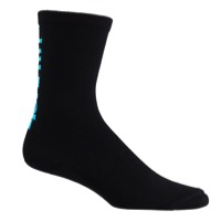 45NRTH Midweight Wool Socks - Black/Blue - Small (Black/Blue)