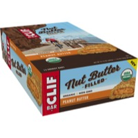 Clif Bar Nut Butter Filled Bars - Peanut Butter (Box of 12)