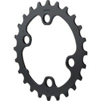 Shimano FC-M7000-2 SLX Asym Chainrings - 64mm x 24t For 34/24t (Black)