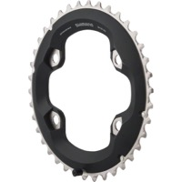 Shimano FC-M7000-2 SLX Asym Chainrings - 96mm x 38t For 38/28t (Black)