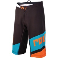 Royal Racing Victory Race Shorts - Black/Teal/Orange - Large (Black/Teal/Orange)