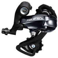 Shimano RD-R3000 Sora Rear Derailleur - 9 Speed - Short Cage (Black)