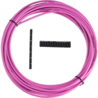 Jagwire Sport Brake Housing - 5mm x 25 Foot Roll (Pink)