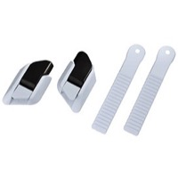Shimano Adaptable Buckle and Strap Sets - Set (White)