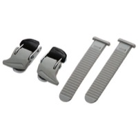 Shimano Universal Small Buckle And Strap Set - Pair (White)