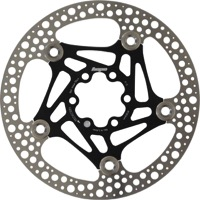 Hope Road Floating 2 Piece Disc Brake Rotors - 160mm, 6 Bolt (Black)