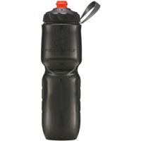 Polar Bottle ZipStream Insulated Water Bottles - 24 Ounce - 24 oz. (Charcoal)