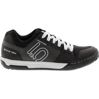 Five Ten Freerider Contact Flat Shoes - Black/Clear Grey/White - Size 9 (Black/Clear Grey/White)