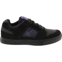 Five Ten Freerider Women's Flat Pedal Shoes - Black/Purple - 8.5 (Black/Purple)