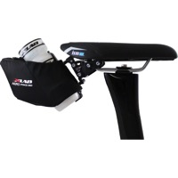 X-Lab Aero Pouch 300 Water Bottle Cage Seat Bag - Black